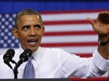 Barack Obama en campagne pour expliquer la réforme sur la couverture sociale, Maryland, 26 septembre 2013. REUTERS/Kevin Lamarque