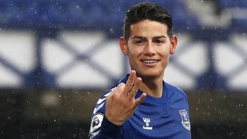 James Rodriguez quitte Everton pour le Qatar