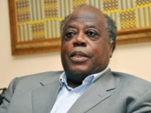 Le président de la CDVR, Charles Konan Banny. AFP PHOTO / SIA KAMBOU