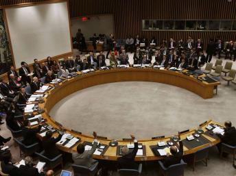 Le Conseil de sécurité des Nations unies à New York a adopté, à l'unanimité, une résolution sur la Syrie, le 27 septembre 2013. REUTERS/Lucas Jackson
