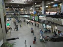 Vue de l'aéroport internacional de Guarulhos, à Sao Paulo. Flickr/masaru_yoshiyama