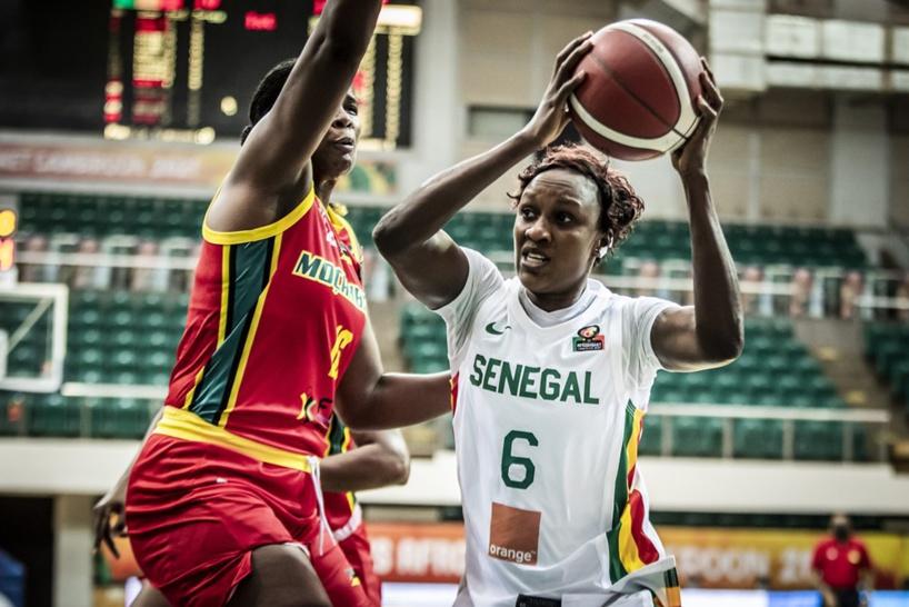 """Les """"Lionnes"""" rejoignent le Nigéria en demi-finale de l'Afrobasket"""