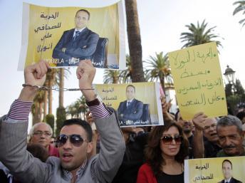 Maroc : journée écran noir en solidarité avec un journaliste incarcéré