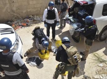 Syrie: les experts de l'ONU achèvent leur enquête lundi