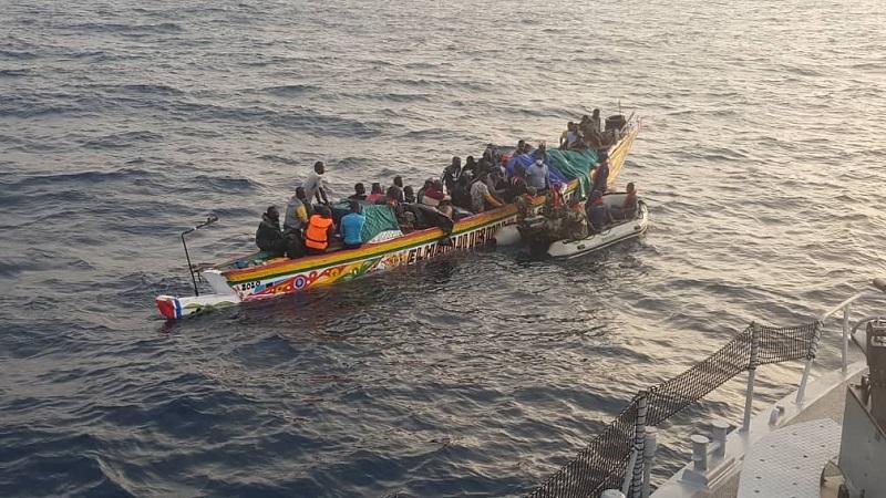 Au moins 785 migrants dont 50 enfants ont péri au large des îles Canaries depuis début 2021 (OIM)