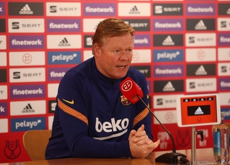 FC Barcelone: Koeman répond aux rumeurs son avenir