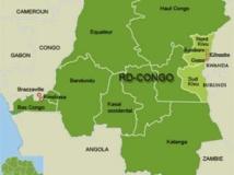 Carte de la République démocratique du Congo. RFI