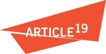 Article 19 célèbre la journée internationale du droit à l'information