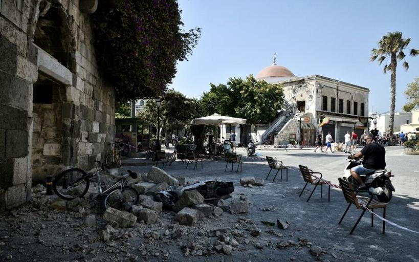 Grèce: au moins un mort dans un tremblement de terre en Crète