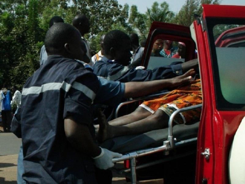 Commune de Thiadiaye : un accident fait 25 blessés dont 15 dans un état grave