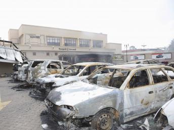 Centre commercial Westgate de Nairobi, le 26 septembre 2013 après l'attaque. REUTERS/Presidential Strategic Communications Unit/Handout via R