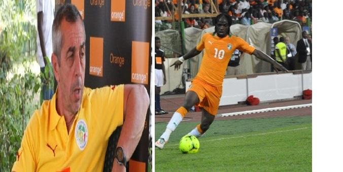 Côte d'Ivoire vs Sénégal du 12 octobre: Giresse ne veut pas d'espace pour Gervinho