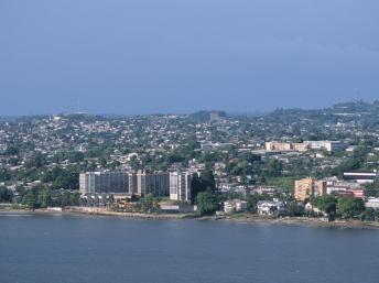 Vue de Libreville, Gabon. Getty Images/Robert Ross