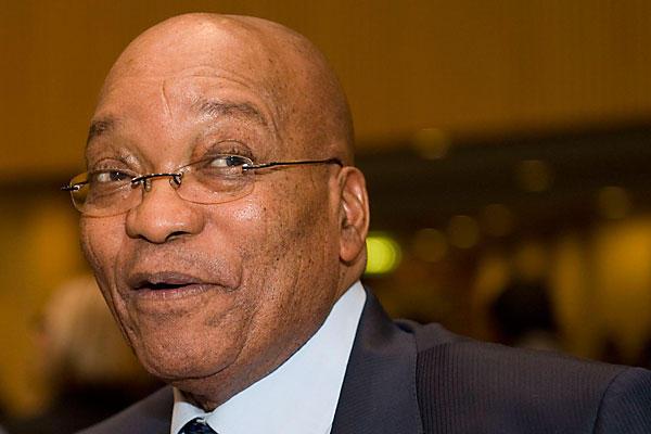 Jacob Zuma, le 24 juin 2013 à Johannesburg. REUTERS/Siphiwe Sibeko