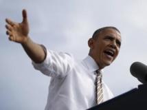 Barack Obama, lors d'une intervention devant la presse le 3 octobre, accuse les républicains de mettre en péril l'économie américaine. REUTERS/Jason Reed