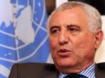 Saïd Djinnit, le facilitateur de l'ONU, est à Conakry pour tenter de sauver les législatives du 28 septembre. AFP PHOTO / SEYLLOU