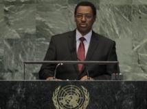 Le premier vice-président burundais Terence Sinunguruza , ici à l'Assemblée générale de l'ONU, New York, 27 september 2013. Reuters/Brendan McDermid