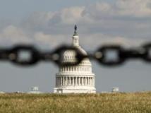 Le Congrès américain est toujours en crise budgétaire. REUTERS/Kevin Lamarque