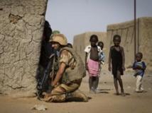 Un soldat français à Gao, en avril 2013. AFP PHOTO / JOEL SAGET