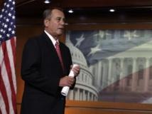 Le chef de file des républicains au Congrès américain, John Boehner. REUTERS/Yuri Gripas