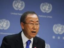Le secrétaire général de l'ONU, Ban Ki-moon. REUTERS