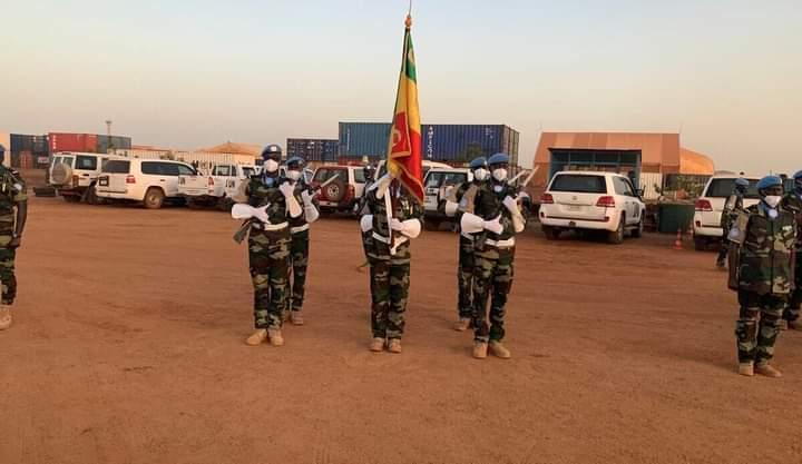 Mali: le deuxième Détachement du génie militaire sénégalais de la Minusma décoré de la médaille de l'Onu