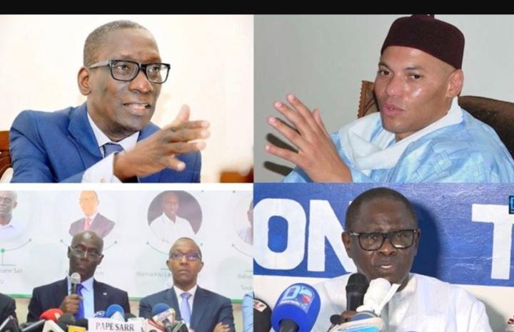 La Grande coalition Wallu Sénégal sera lancée vendredi à la Place du souvenir
