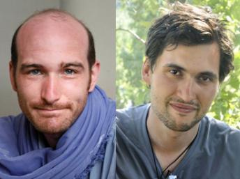 Les journalistes français Nicolas Hénin et Pierre Torres otages en Syrie