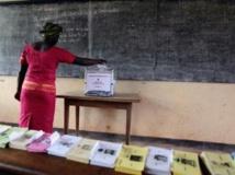 Opération de vote au Cameroun. REUTERS/Akintunde Akinleye