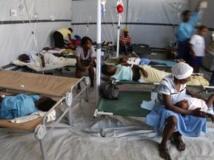 L'épidémie de choléra en Haïti a fait plus de 8 300 morts et des centaines de miliers de personnes infectées (photo prise à Port-au-Prince en décembre 2010) REUTERS/Kena Betancur