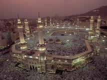Des pèlerins rassemblés à la Grande mosquée de La Mecque durant la Hadj. Getty Images/Martin Gray/National Geographic