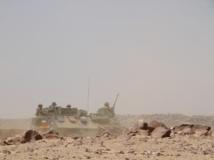 Départ d'une patrouille de militaires de la force Serval. RFI / Claude Verlon