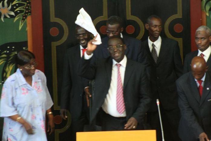 Assemblée nationale : Moustapha Niasse réélu avec 120 voix et répond à Thierno Bocoum