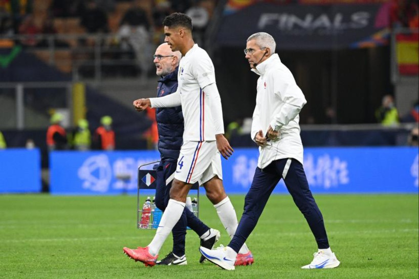 Manchester United: Raphaël Varane absent quelques semaines