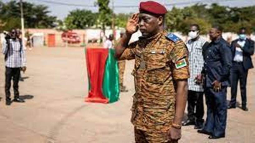 Burkina Faso : le général Gilbert Ouédraogo prend le commandement des forces armées