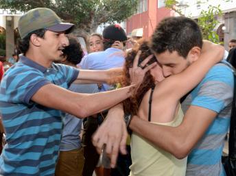 Maroc: le «kiss-in» de solidarité a tourné court à Rabat