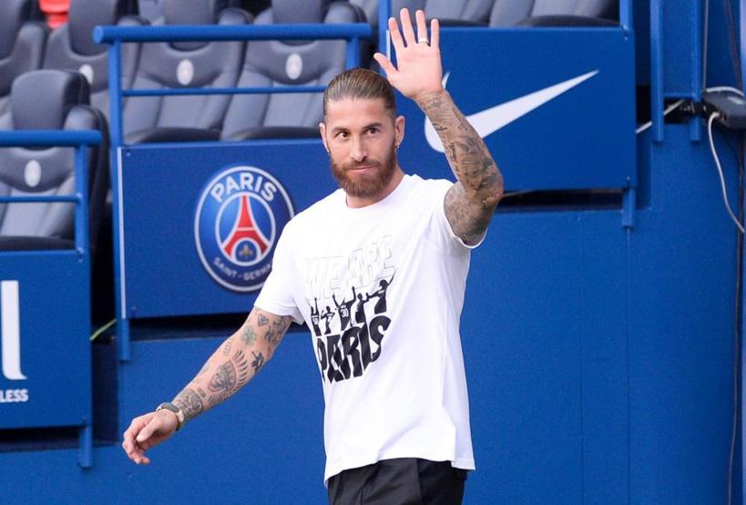 Sergio Ramos forfait pour le choc OM-PSG