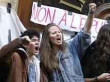 Les lycéens parisiens protestent contre les expulsions d'élèves étrangers