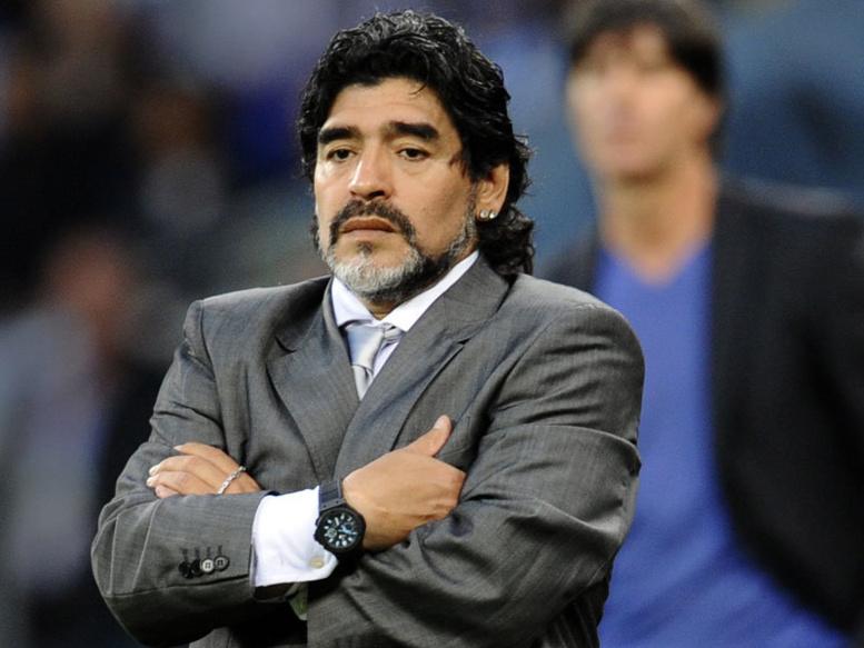 Maradona explique la différence entre Cristiano Ronaldo et Messi