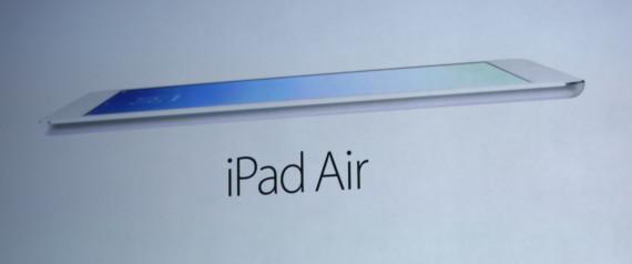 PHOTOS - IPad Air, la dernière tablette d'Apple présentée, des nouveaux MacBook Pro et Mac Pro