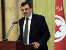 Le Premier ministre tunisien Ali Larayedh s'est engagé sur « le principe » d'une démission du gouvernement. AFP PHOTO / FETHI BELAID
