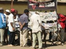Panneau d'affichage officiel pour la campagne présidentielle, quartier d'Ambanidia. Antananarivo. Bilal Tarabey / RFI