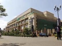Le centre commercial Wesgate, à Nairobi, avant l'attentat meurtrier du 21 septembre 2013. REUTERS/Thomas Mukoya