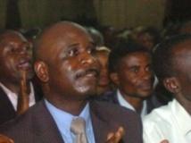 Eugène Diomi Ndongala fait partie des prisonniers qui ne devraient pas être graciés. AFP PHOTO / JUNIOR D.KANNA