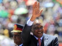 Le 20 octobre, le président Uhuru Kenyatta célèbre le jour des héros au stade national de Nairobi. REUTERS/Noor Khamis
