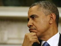 Barack Obama est dans une position délicate depuis plusieurs jours vis-à-vis de ses partenaires européens. REUTERS/Larry Downing