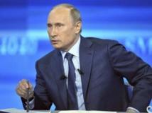 Le président russe, Vladimir Poutine. REUTERS/Mikhail Klimentyev