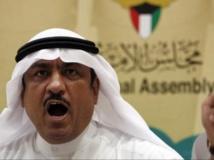 L'opposant Musallam al-Barrack en novembre 2011. REUTERS/Hamad I Mohammed