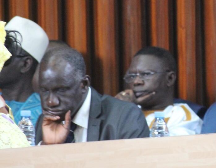 Direct Assemblée nationale DPG: Le ministre des sports, Mbagnick Ndiaye dort en pleine séance