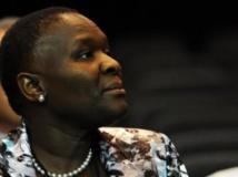 Riah Phiyega, la chef de la police nationale objet d'une investigation de l'Ipid, la police des polices d'afrique du Sud. AFP
